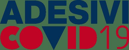 Adesivi covid19 logo colorato Lorendesign