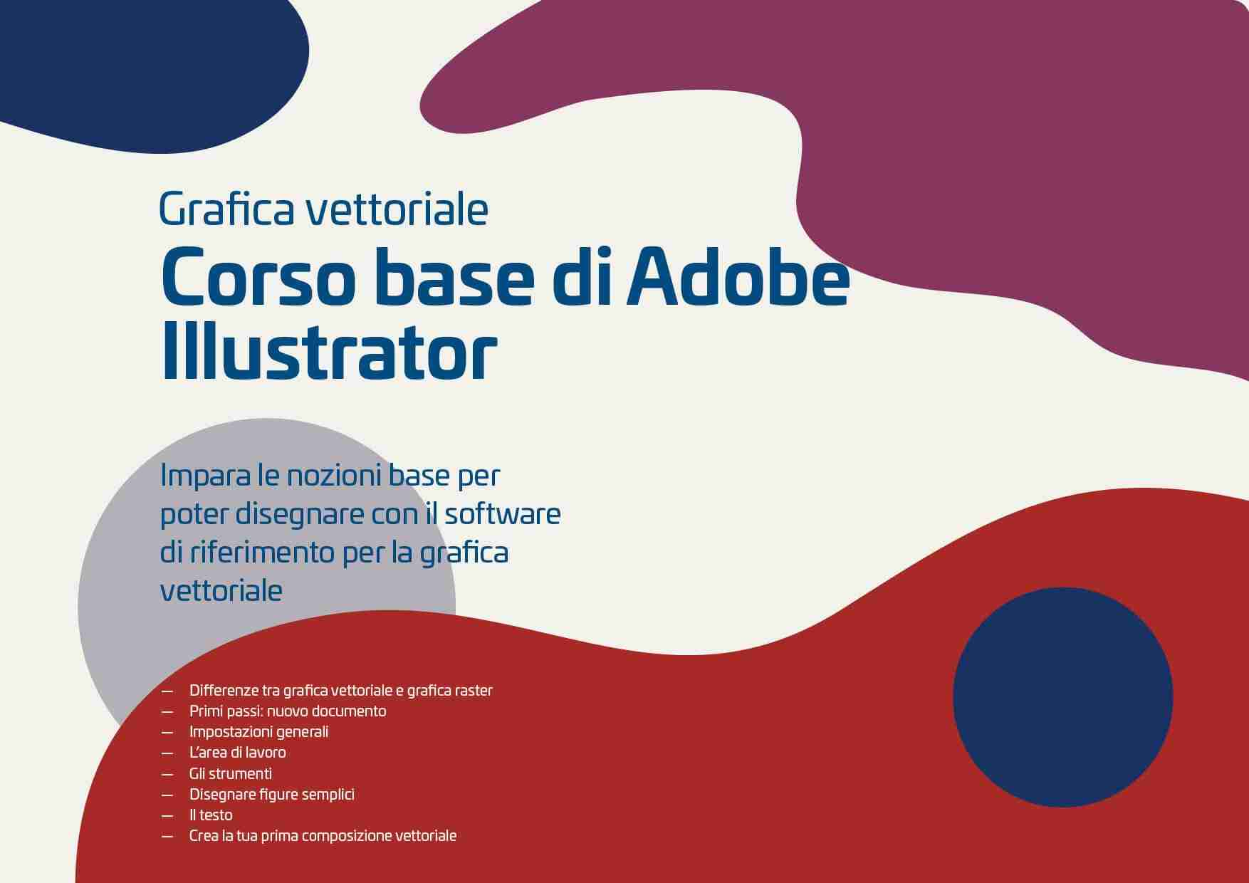 Corso base di Adobe Illustrator - grafica vettoriale - Corsi Lorenzdesign studio grafico