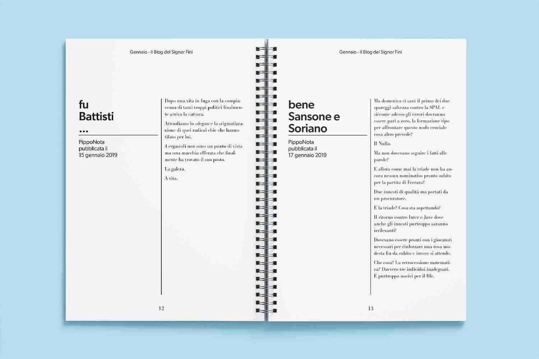 Le PippoNote libretto - pagine interne - Lorenzdesign studio grafico